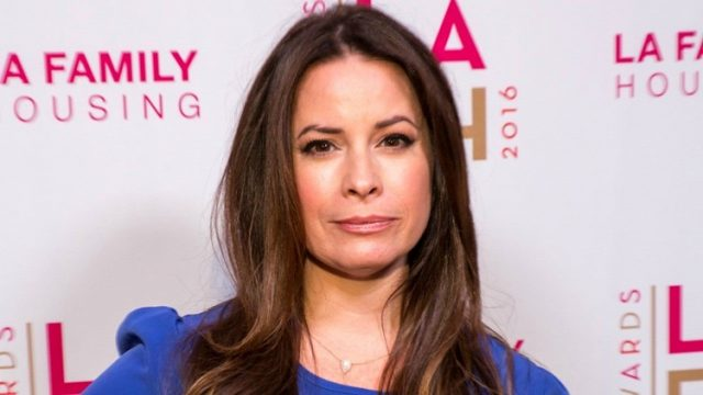 Holly Marie Combs Measurements Bra Size Height Weight