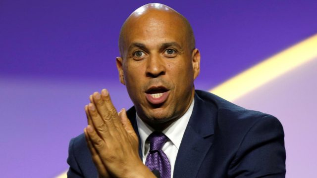 Cory Booker's Body Measurements Shoe Size Height Weight