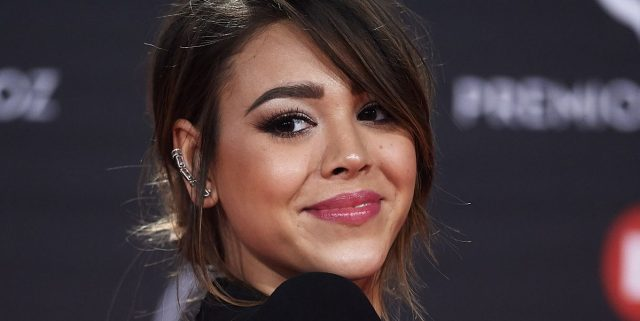 Danna Paola's Body Measurements Breasts Height Weight